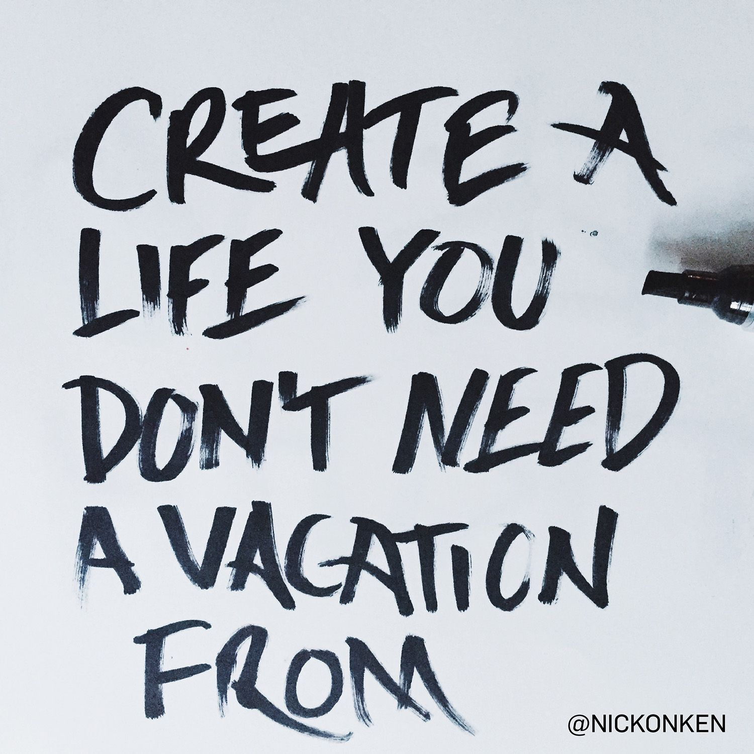"Farm Life Quotes Quote Inspiration ""create A Life You Don't Need A Vacation From"