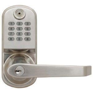 Resort Lock Rl2000n S Remote Code Door Lock Silver By Resort Lock