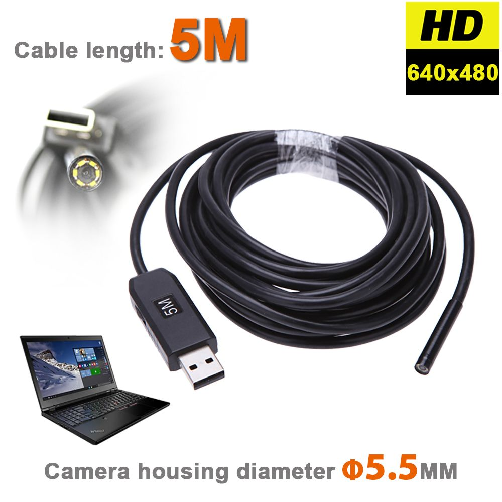 Mm Usb Endoscope Camera Ip Waterproof Snake Inspection Borescope Video Tube Pipe Usb Mini Camera With M Rigid Cable Price Pkr   Pakistan