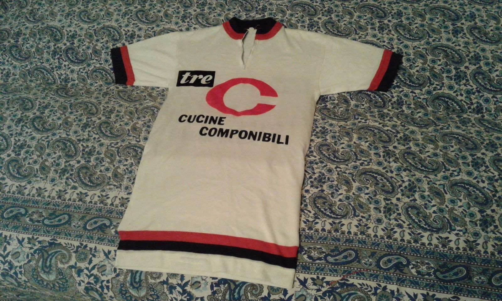 Maglia shirt vintage ciclismo cycling anni 70/80 wool lana size 3 ...