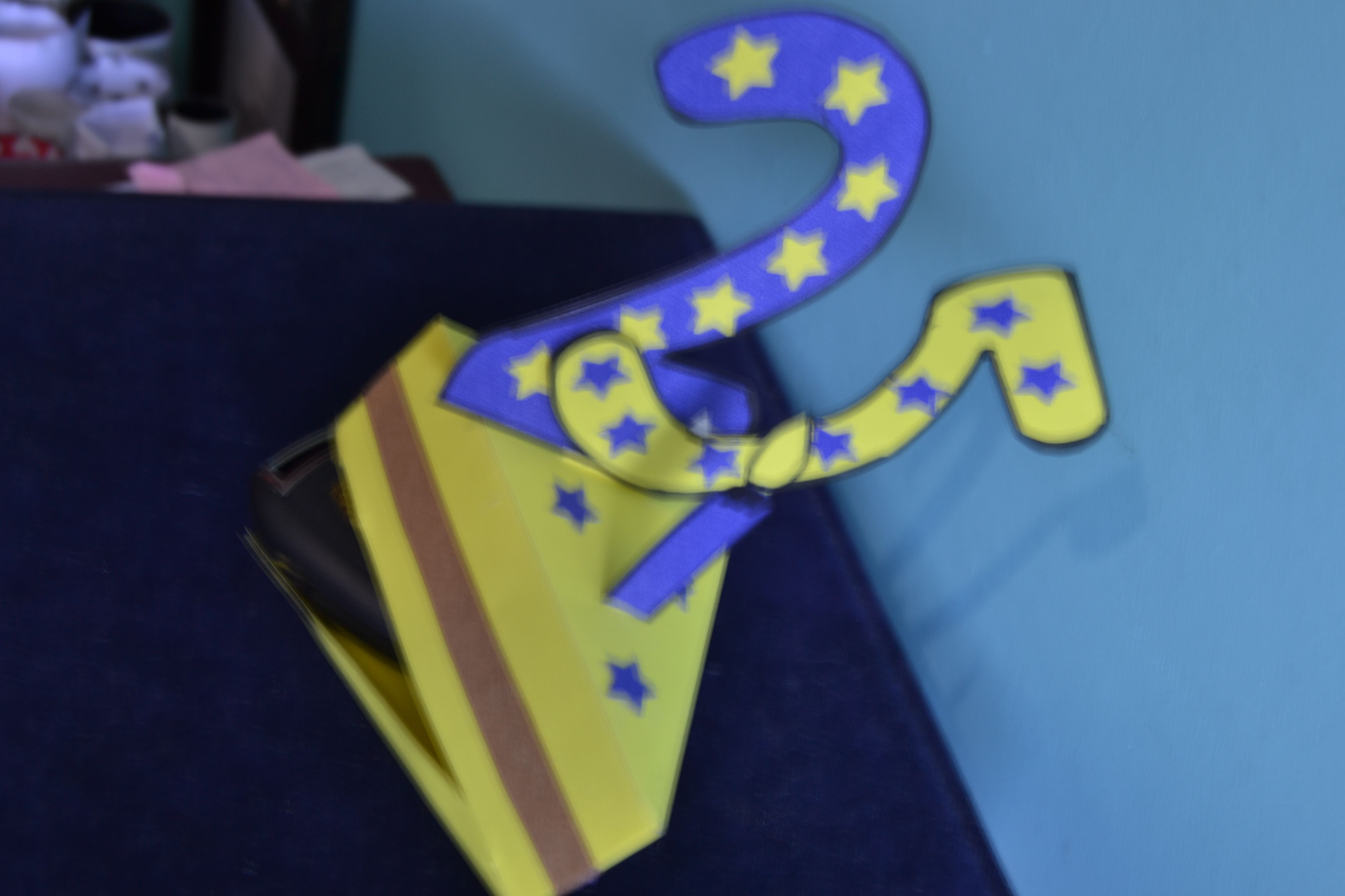 Caja de regalos... modelo Porción de Torta