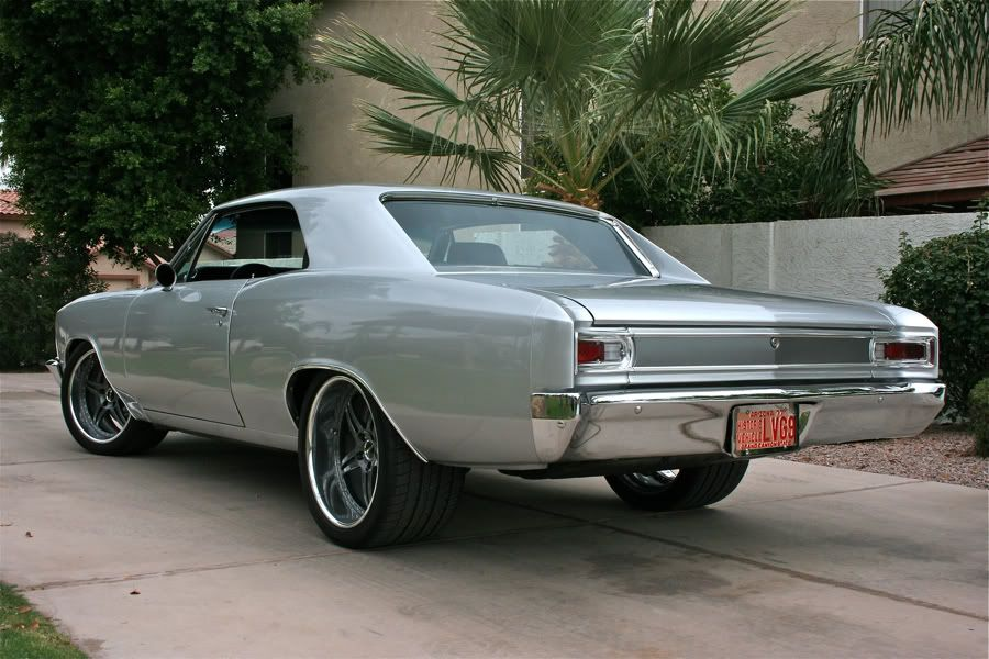 BecauseSS protouring chevelle   1966 pro-touring chevelle 99