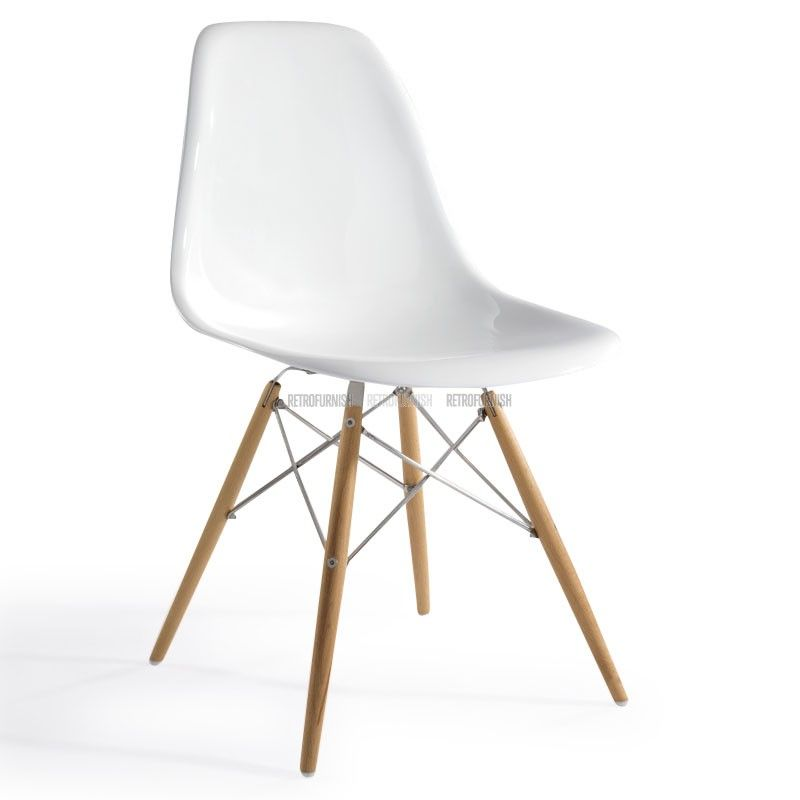 Eames plastic side chair dsw eames dsw replica charles for Chaise charles eames ebay
