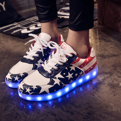 info for ee2e9 c6804 2016 Simulation Led Shoes For Adults Fashion High Quality Unisex LED  Luminous Shoes Casual Shoes Led Shoe Female