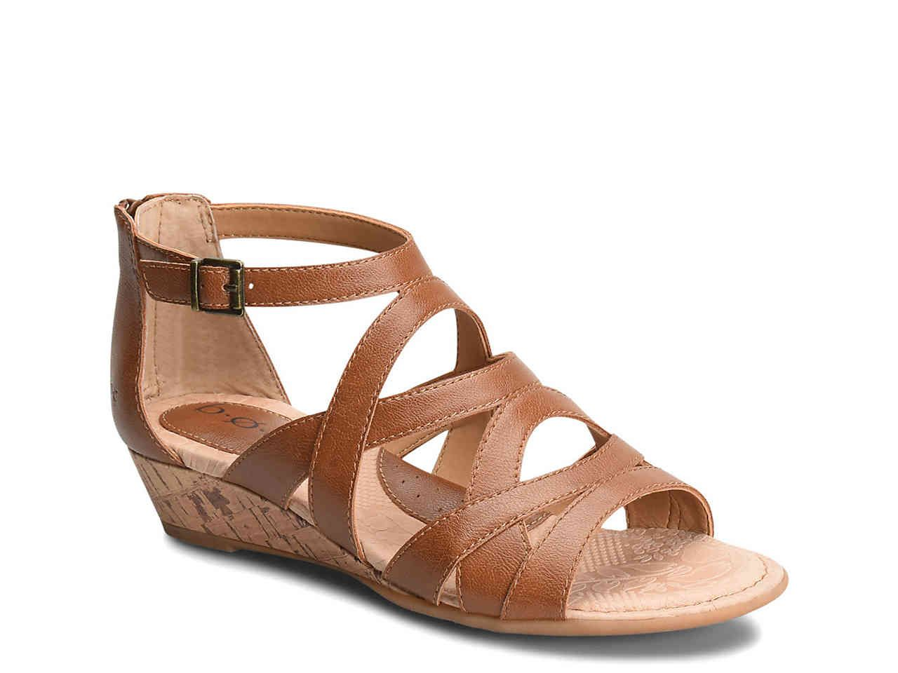 b.o.c Searing Wedge Sandal DSW $50