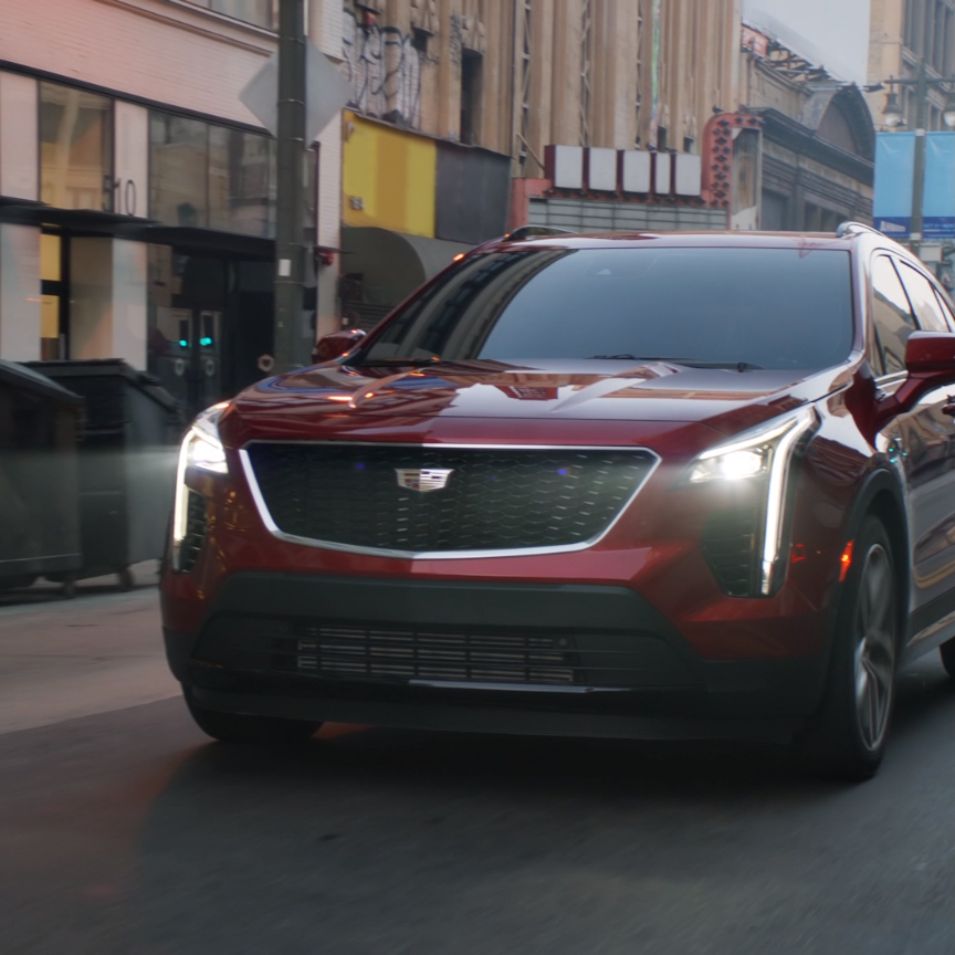 Cadillac Crossover Suv: The Unmistakable Cadillac XT4.