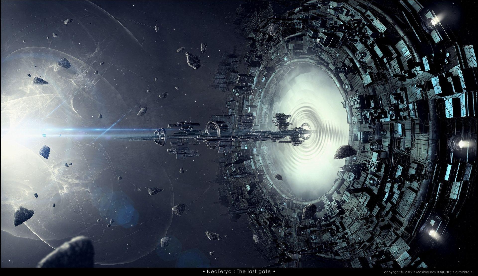Sci Fi Wallpaper Post Space Art Science Fiction Artwork Concept Art