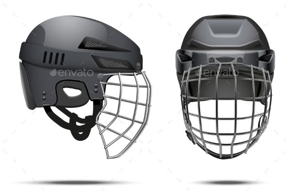 Classic Goalkeeper Hockey Helmet Hockey Helmet Helmet Football Helmets