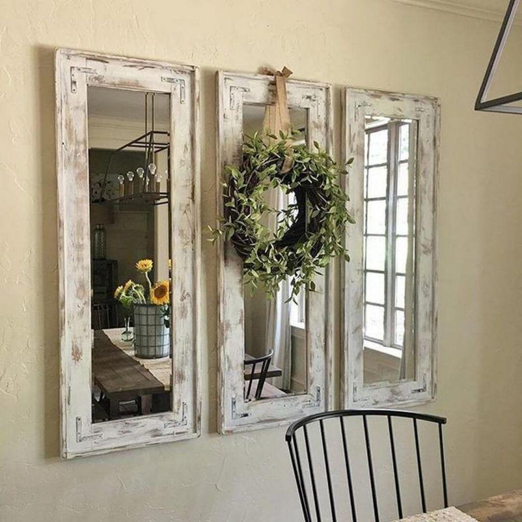 16 beliebte Spiegel Wand Dekor Ideen am besten für Wohnzimmer in