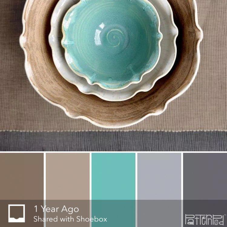 Brownandgoldlivingroom Teal Color Palette Turquoise Color Scheme Blue Color Schemes
