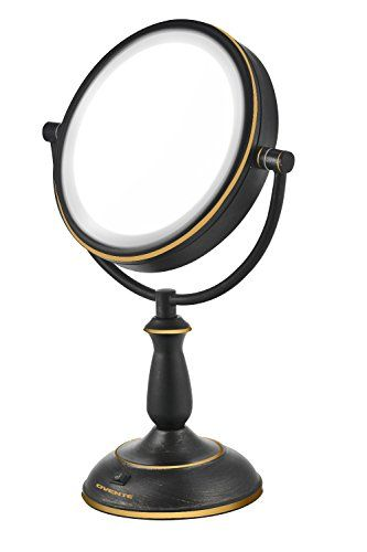 Advertisement Gurun Led Lighted Wall Mount Makeup Mirror With 10x