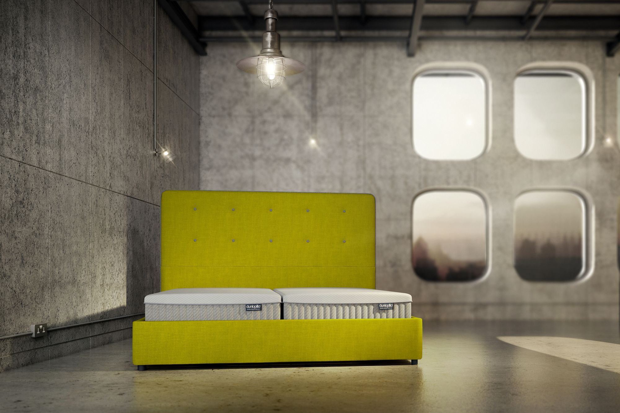 The Orchid Mattress Marries The Dunlopillo Blueprint For Firm Comfort With An Extra Deep Comfort Core The Result Is A Fusi Cool Beds Intelligent Design Design
