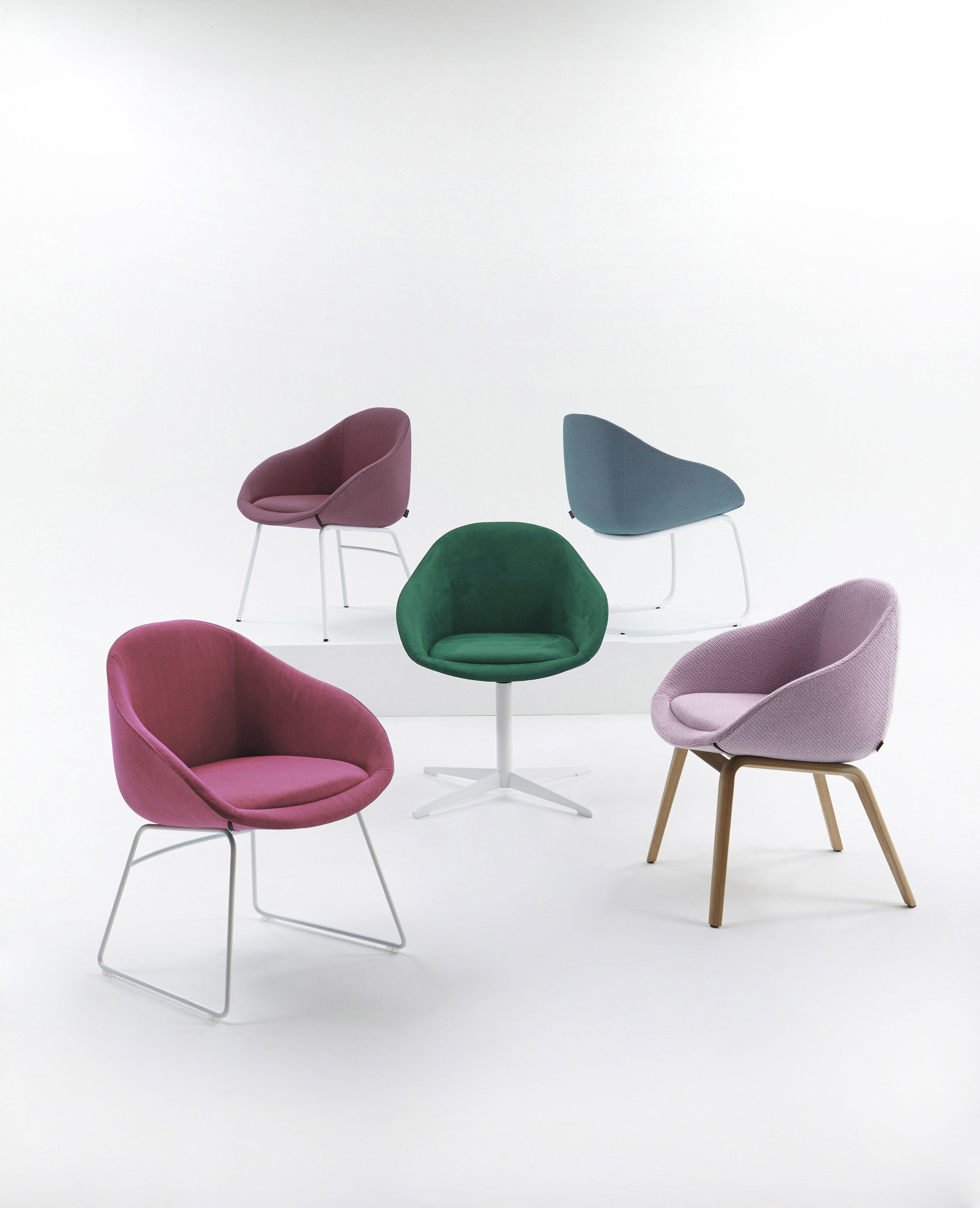 naughtone always chairs in pastel tones contemporary beautiful  - naughtone always chairs in pastel tones contemporary beautiful furniture