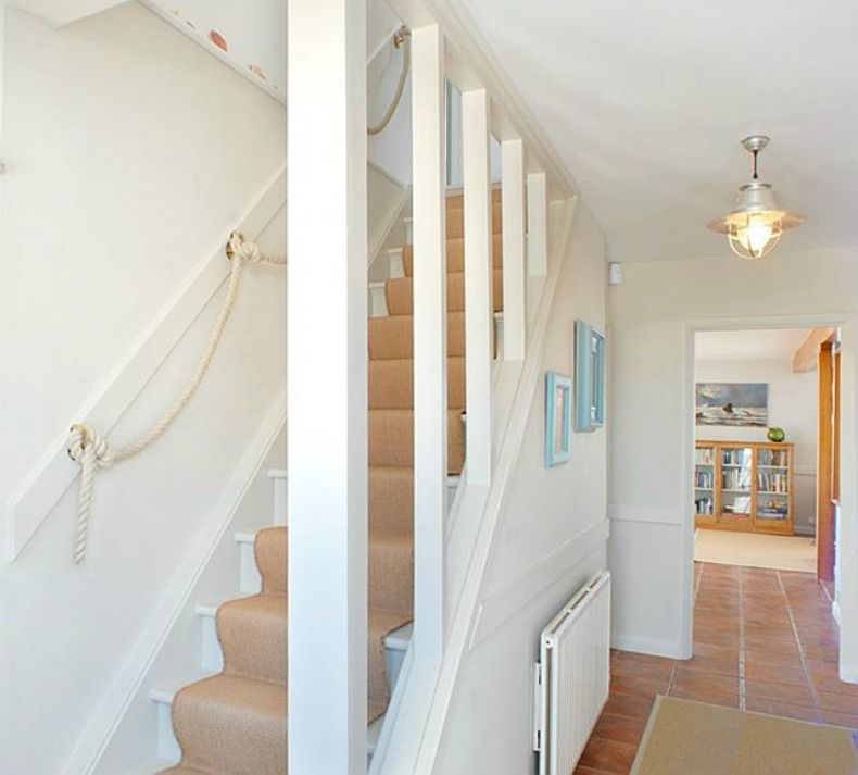 Spotted From The Crow's Nest:Beach House Tour West Sussex