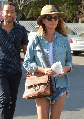 Chloé  bag - Chrissy Teigen