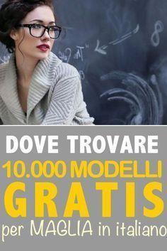Photo of 10mila modelli gratis per maglia in italiano