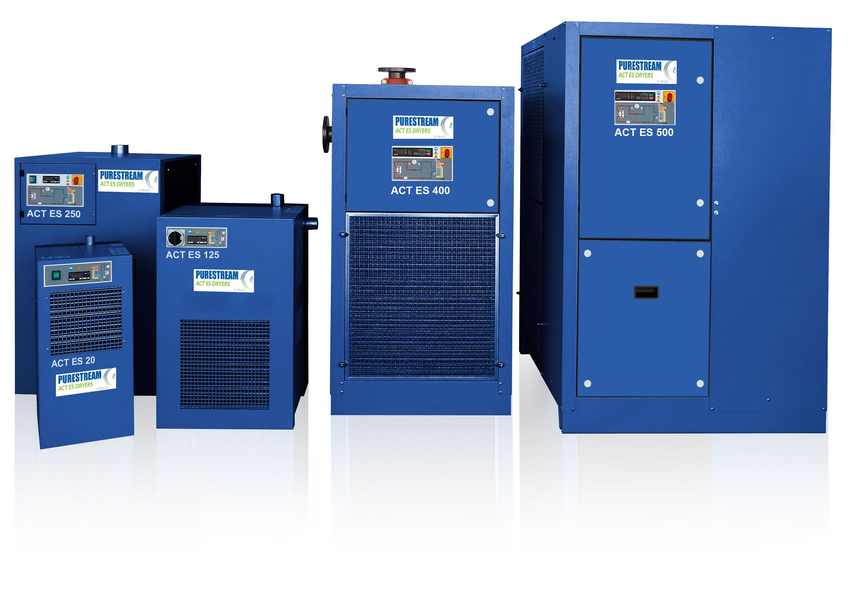 NEW ACT Energy Saving Dryers. The NEW range of PURESTREAM