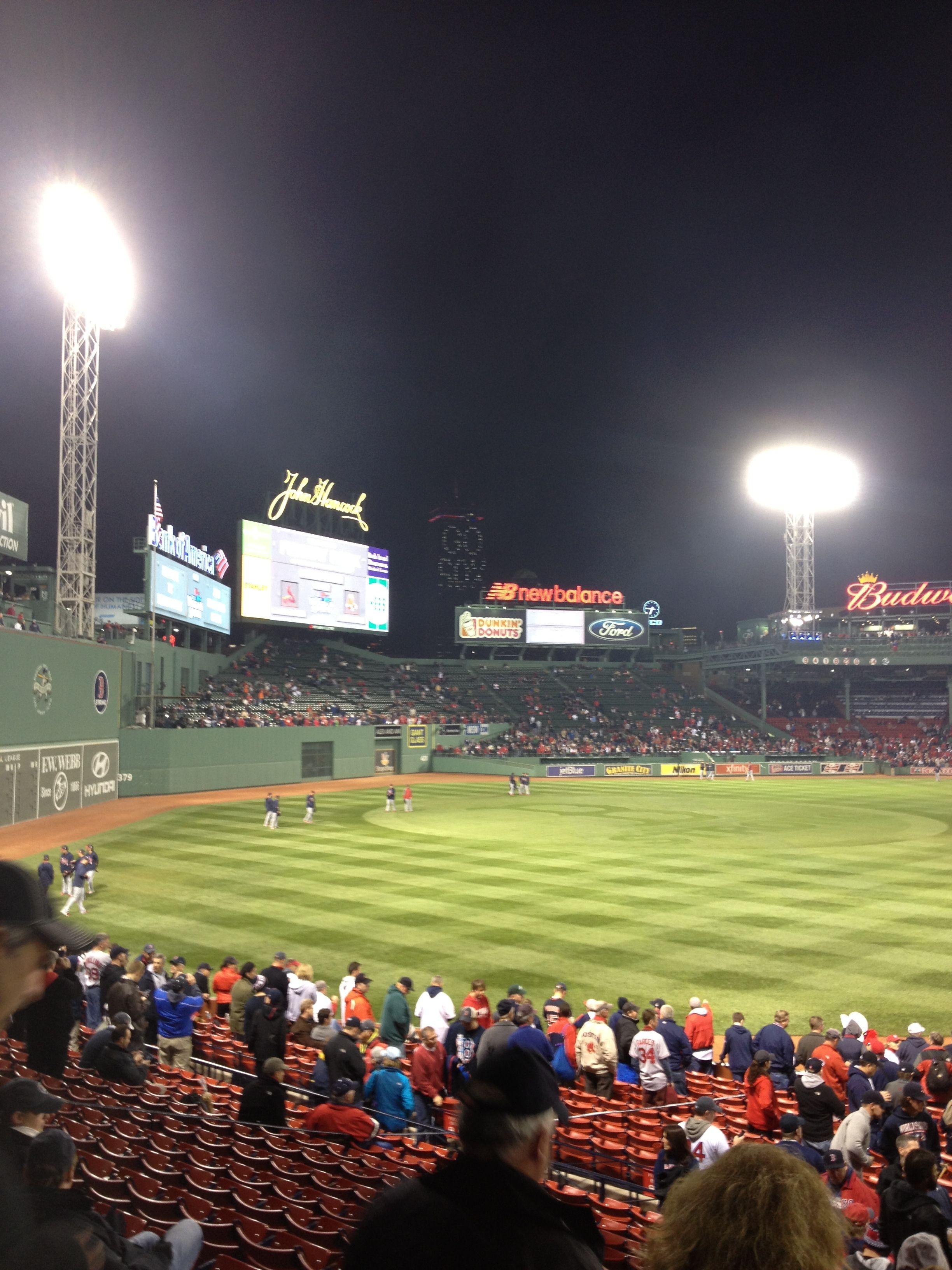My 2013 World Series game 6 in Boston 2013 world series