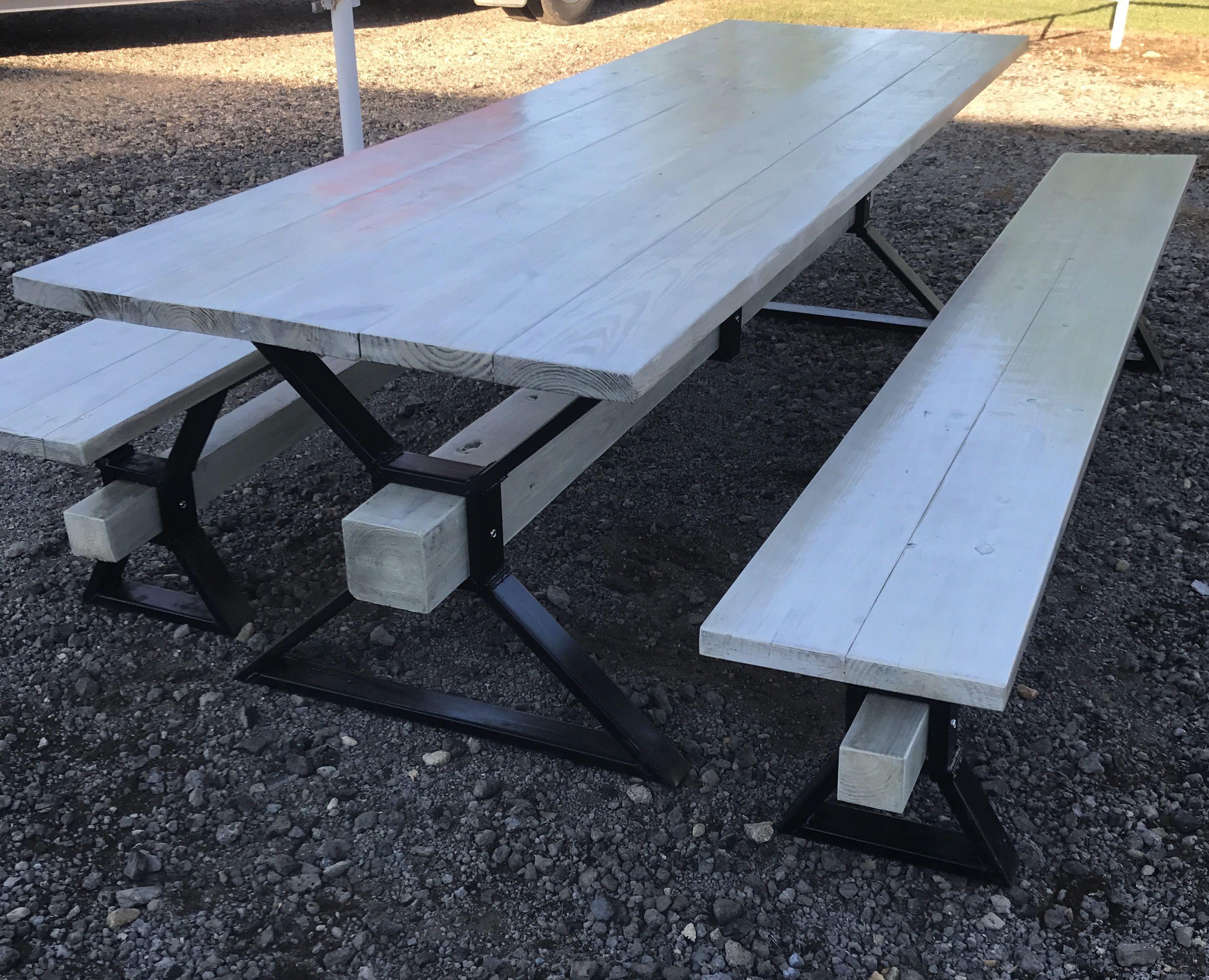 metal frame picnic table - Metal Picnic Table Frame