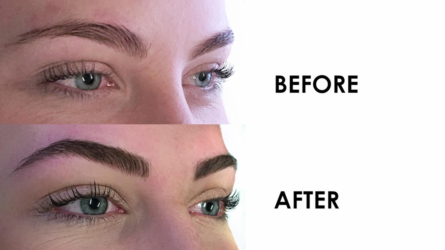 Women Get Their Eyebrows Tattooed EyeMakeupLooks in 2020