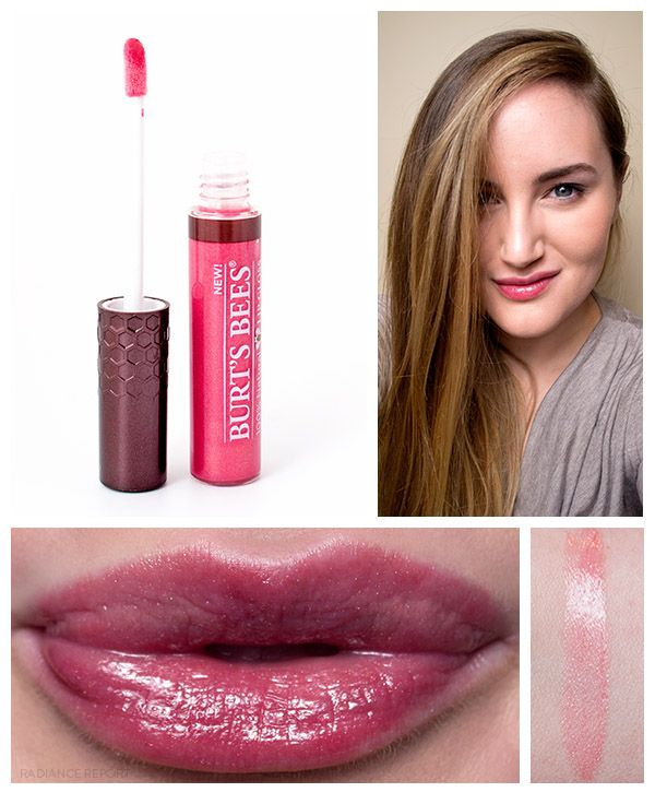 Ad Burt S Bees Lip Shine Tinted Lipbalm Lip Shimmer