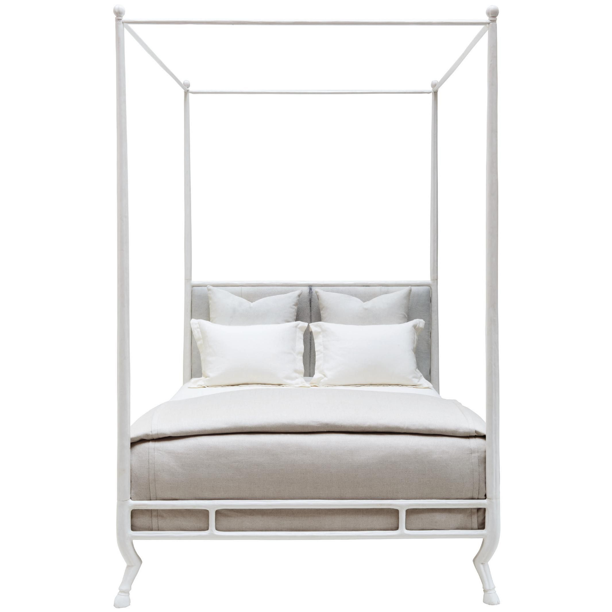 Oly Studio Faline Bed Oly Studio Faline Bed Candelabra Inc White Metal Bed Cal King Bedding Wood And Upholstered Bed