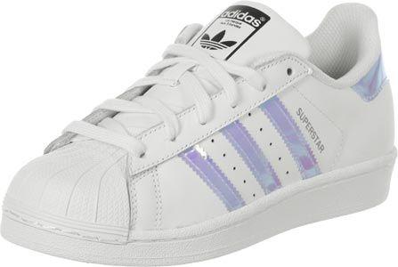 adidas Superstar J W shoes black white