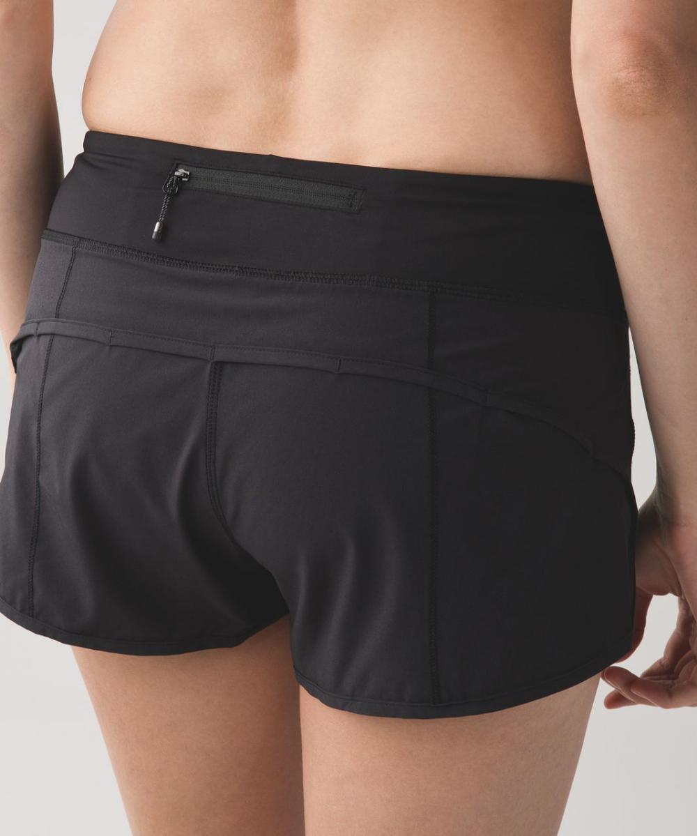 Lululemon Speed Short 4 Way Stretch 2 5 Black Lulu Fanatics Lululemon Speed Shorts Running Shorts Women Clothes [ 1199 x 1000 Pixel ]