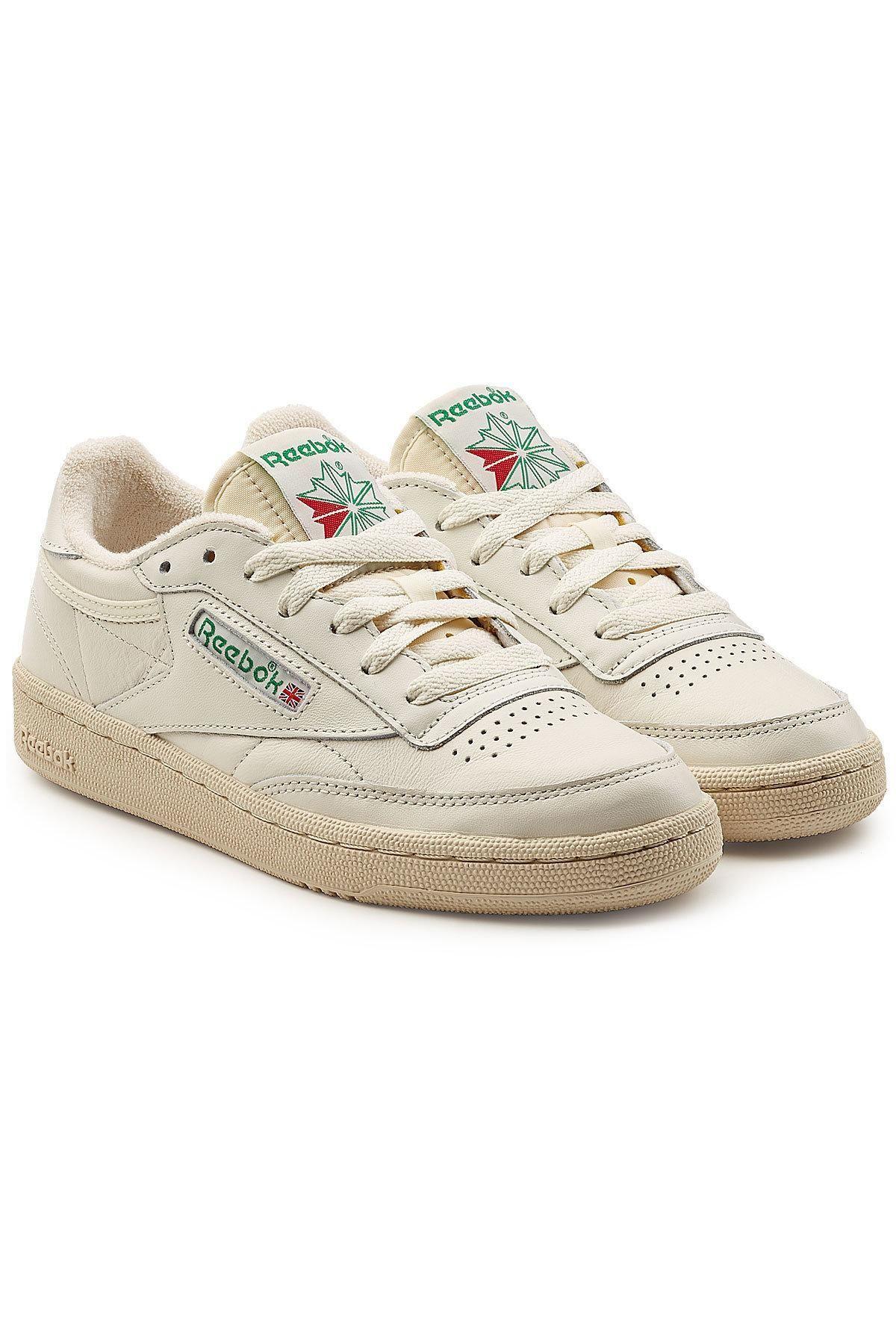 d7c19138d04  STYLEBOP.com (FR NL IT) -  Reebok Reebok Club C 85 Vintage Leather  Sneakers - AdoreWe.com