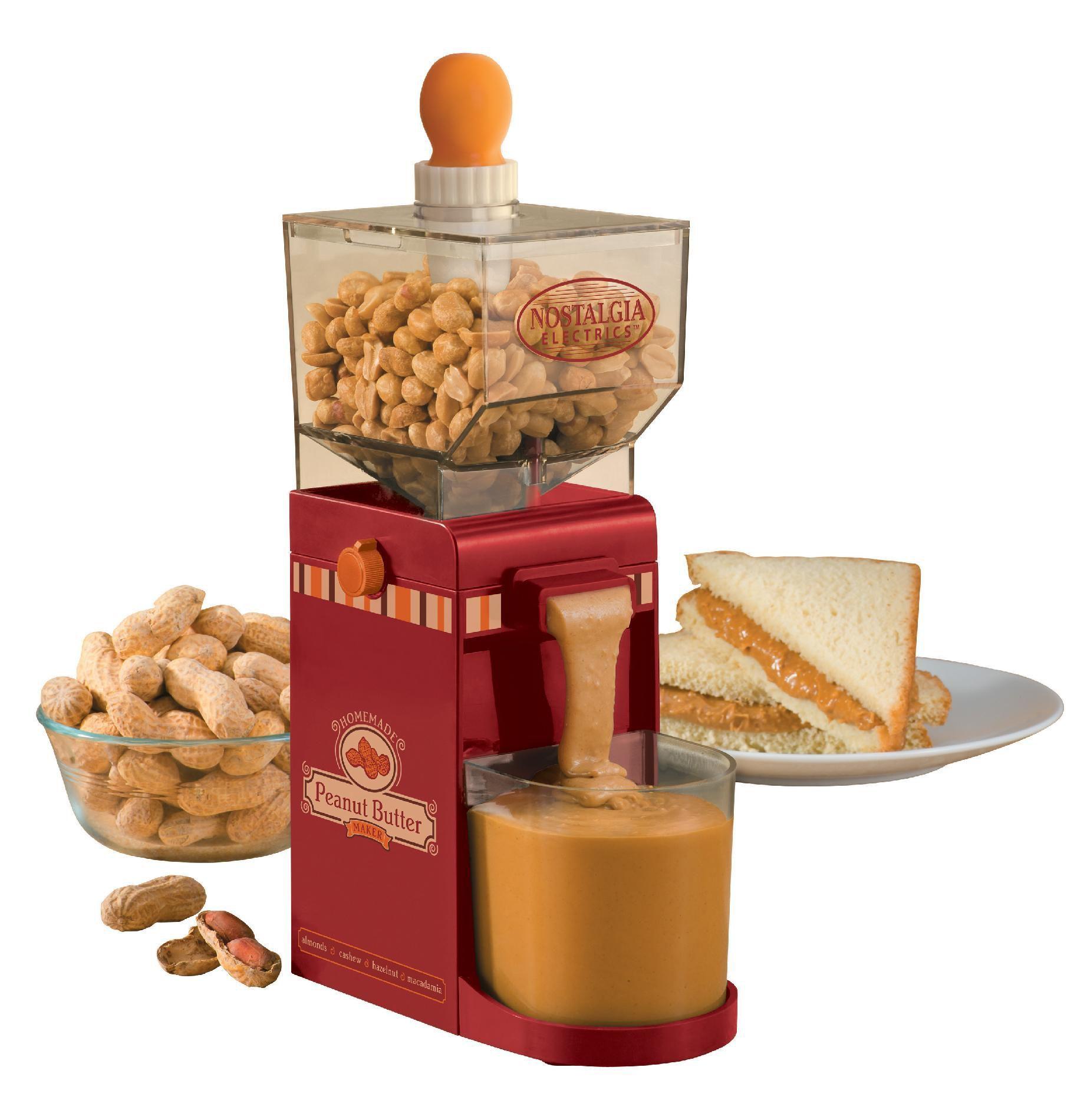 Nostalgia Electrics NBM400 Electric Nut Butter Maker - Appliances ...