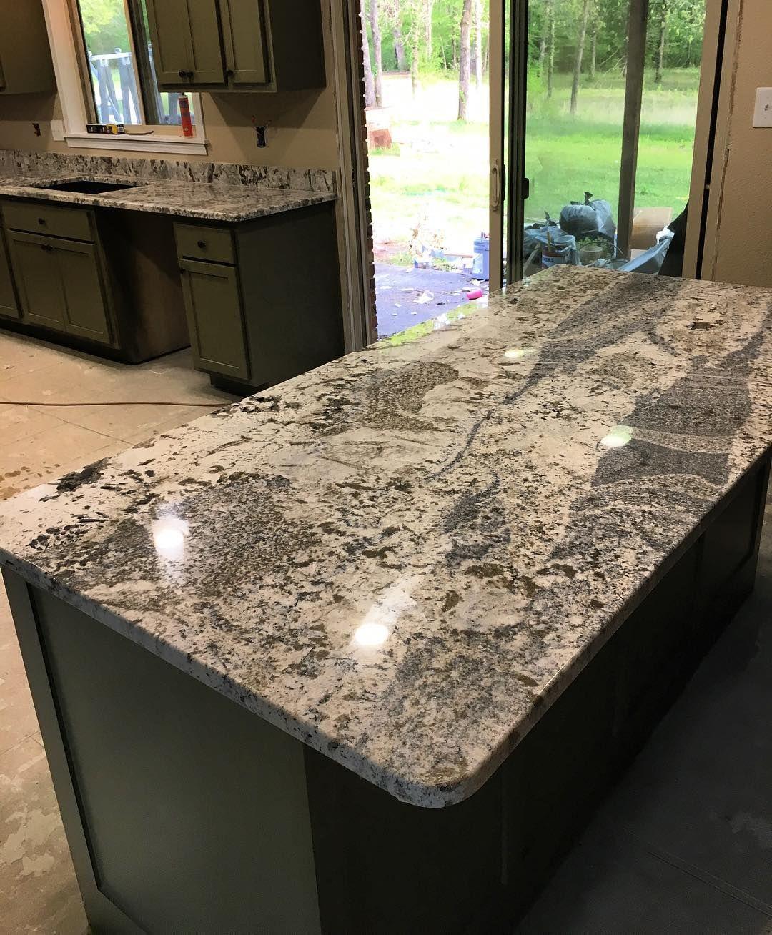 Azul Nuevo Granite Countertops Emcarmarblegranite Kitchencountertops Hotspringsarkansas Littlerock Arkansas