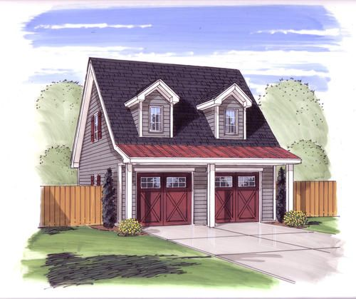 Thayer Garage Plans With Loft Garage Loft Garage Plan
