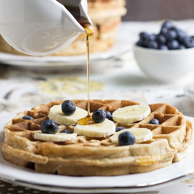 Healthy Banana Waffles | Skinny Mom | Where Moms Get the Skinny on Healthy Living