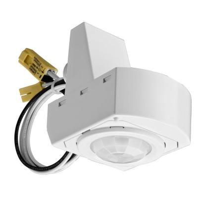 Lithonia Lighting 360° Mounted White Motion Sensor Fixture