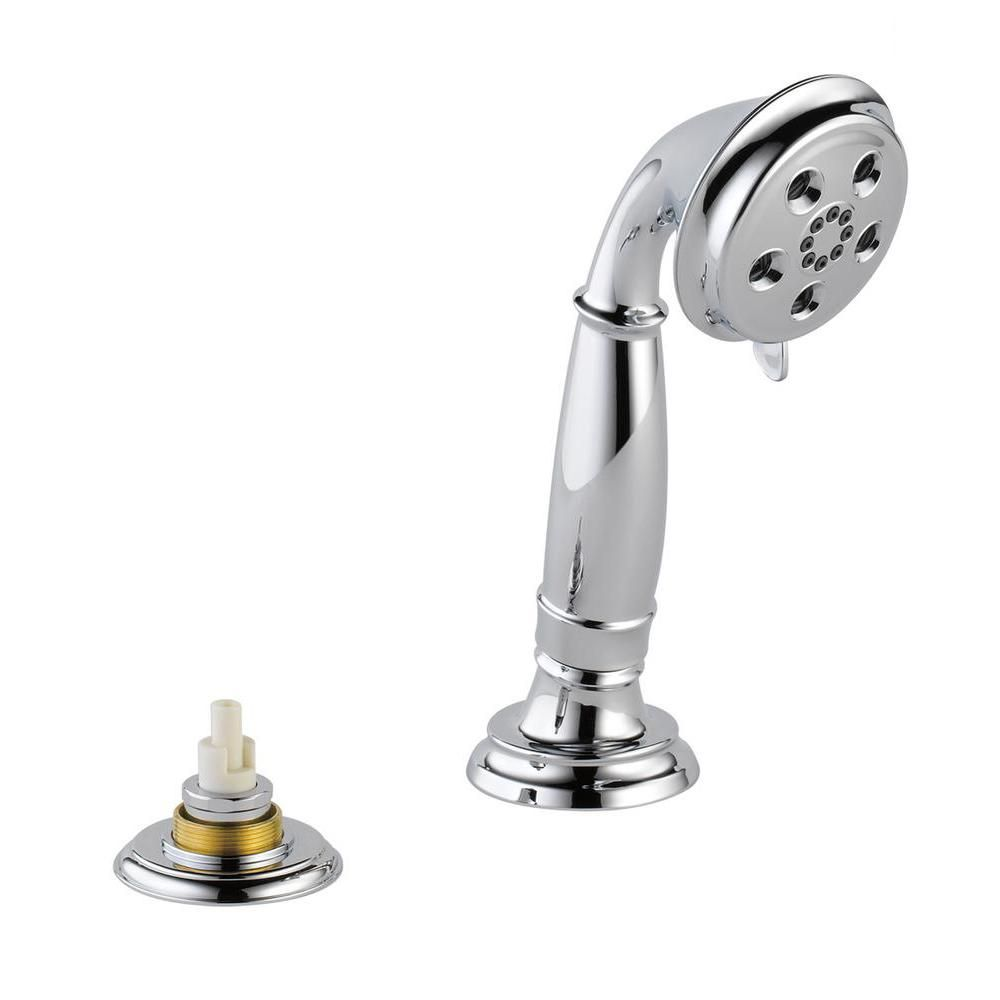 Delta Cassidy 3-Spray 3 in. Single Tub Deck Mount with Transfer Valve Handheld Shower Head in Chrome-RP72767LHP - The Home Depot