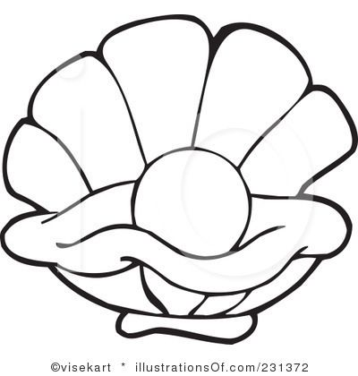 Oyster Pearl Illustration Google Search Sea Creatures Drawing Coloring Pages Sea Turtle Quilts