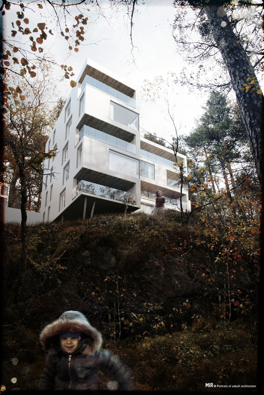 Viktor Fretyan - Forest Housing by LINK