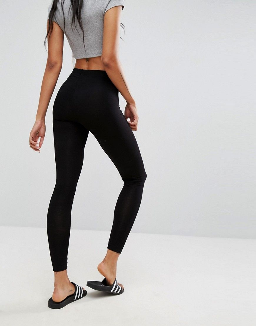 4d906a51c67a2 2 Pack High Waisted Leggings in Black Save 10% | Products | Leggings ...