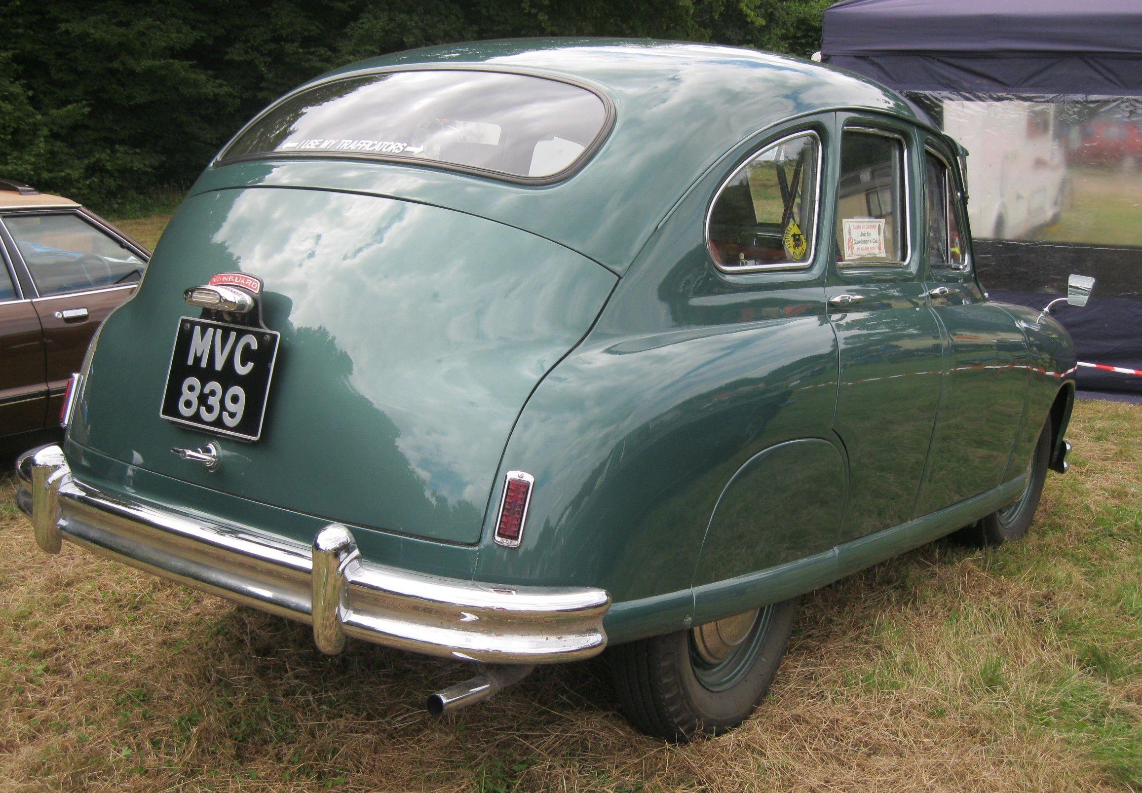 1951/52 Standard Vanguard Phase 1 | Classic Marques - Standard ...