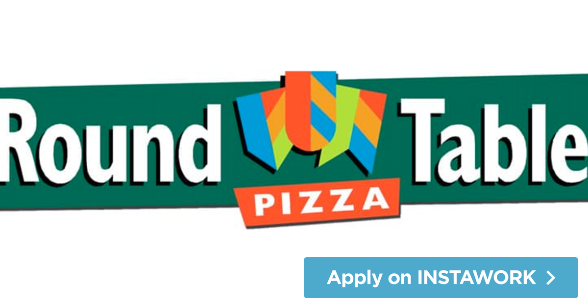 Round Table Pizza Job.Pin By Instawork On Restaurant Jobs Restaurant Jobs Part Time
