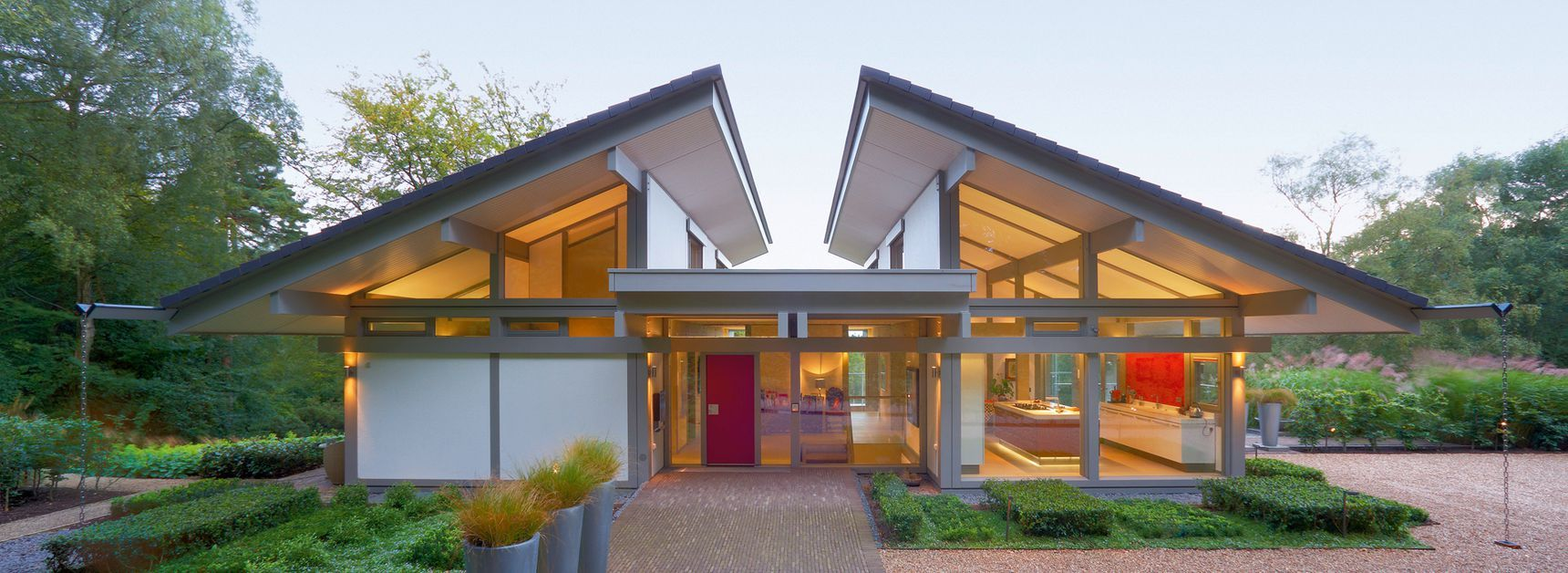HUFHaus ART69 Haus architektur, Design für zuhause