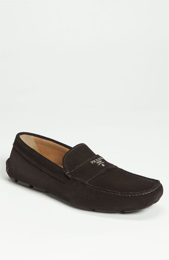 26e02aef787 Prada Suede Driving Shoe available at  Nordstrom Driving Shoes