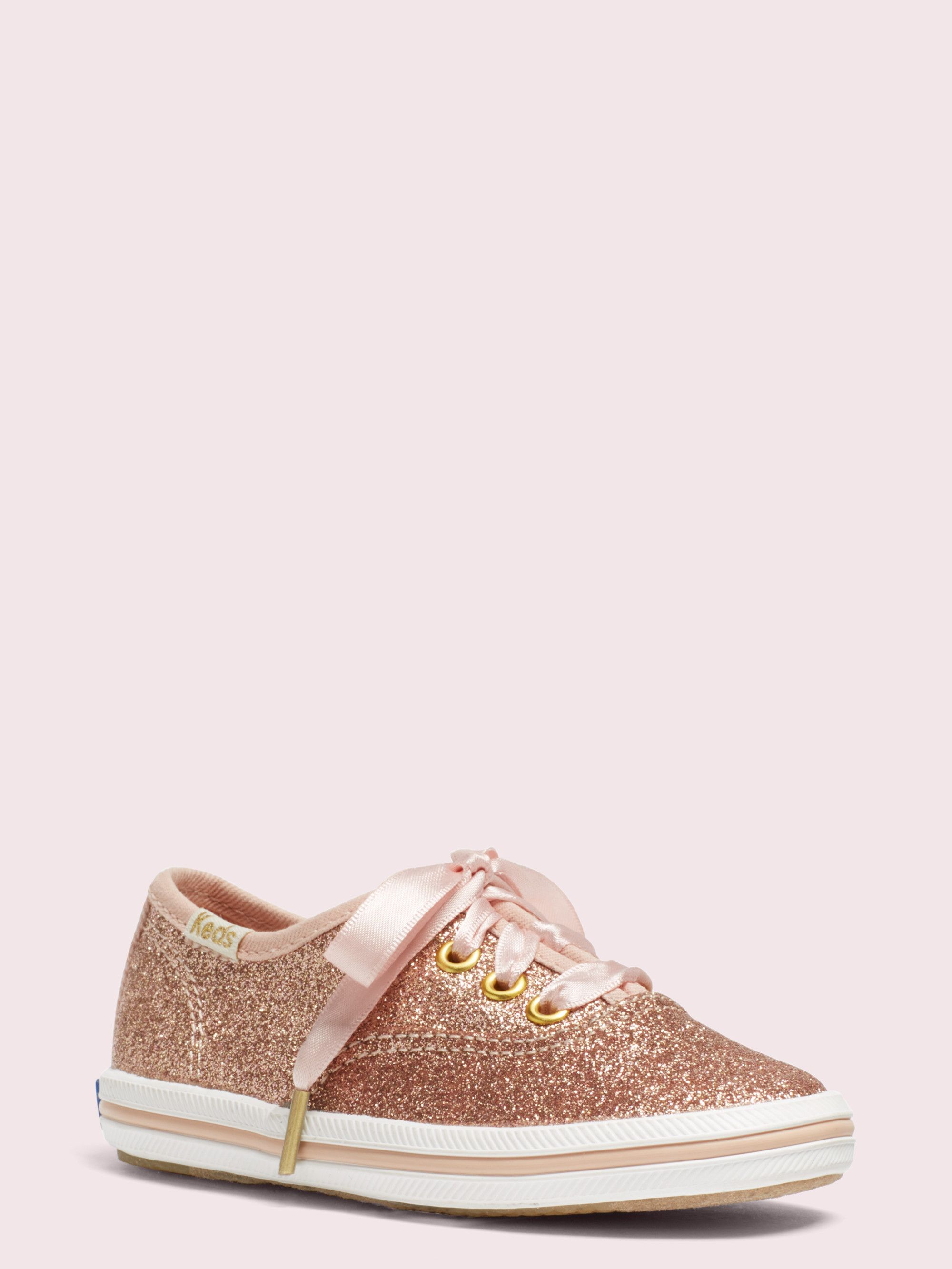 new appearance discount shop exclusive deals keds kids x kate spade new york champion glitter toddler sneakers ...