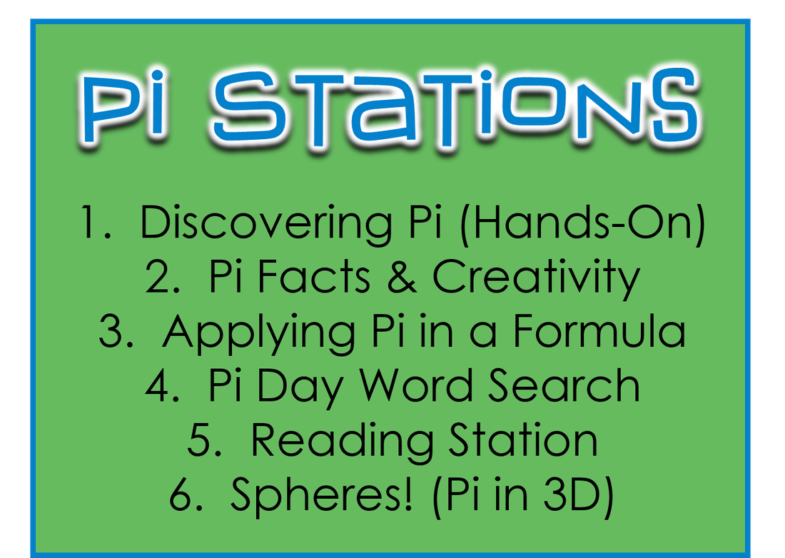 Pi Day Stations Wish I D Seen This Before Pi Day Ing