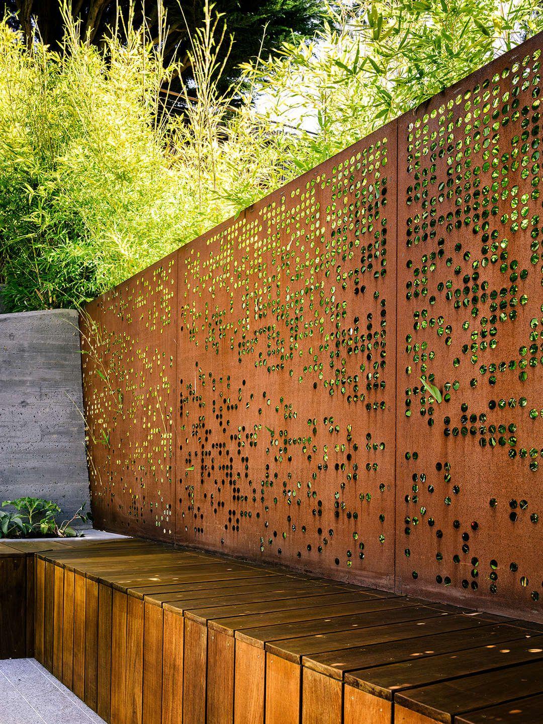 Hilgard Garden Fence Design Landscape Design Modern Landscape Design