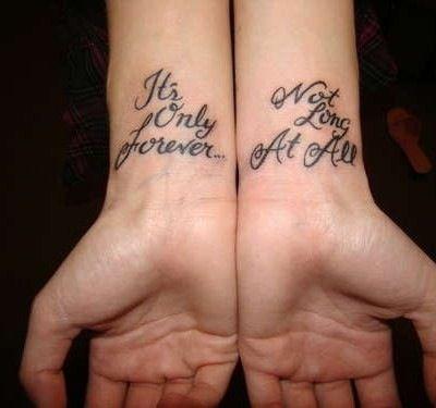 Best Friend Tattoo Wrist Tattoos Quotes Tattoo Quotes Good