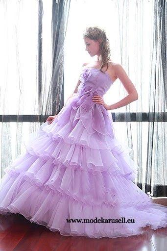 Lilanes Abendkleid Ballkleid Jaqueline | Lavendel ...