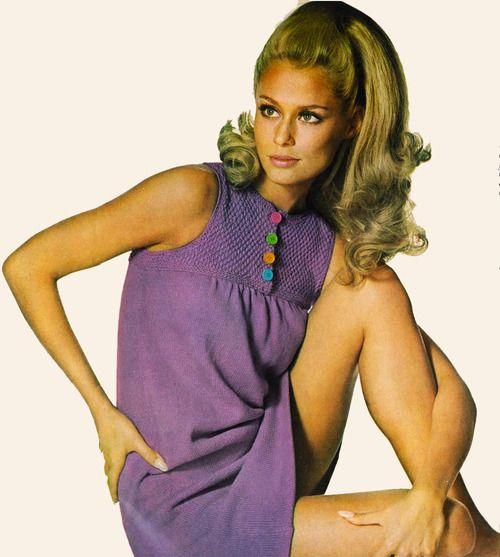 Lauren Hutton Circa 1966. 60s Summer Style.