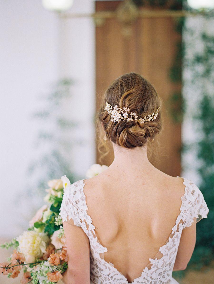 Fine Art Bride Styling Bride Hairstyles Bride Hair Accessories