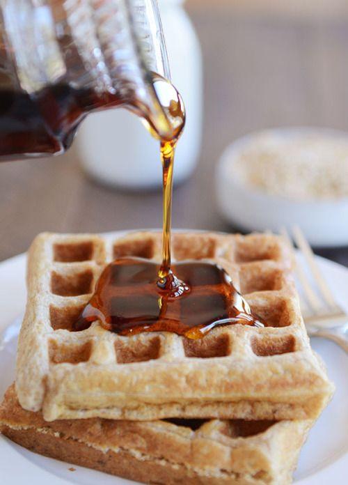 Overnight Buckwheat Oat Buttermilk Waffles or PancakesReally  Mein Blog: Alles rund um die Themen Genuss & Geschmack  Kochen Backen Braten Vorspeisen Hauptgerichte und Desserts